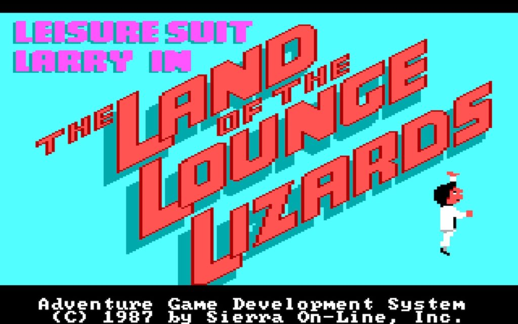Leisure Suit Larry in the Land of the Lounge Lizards #01