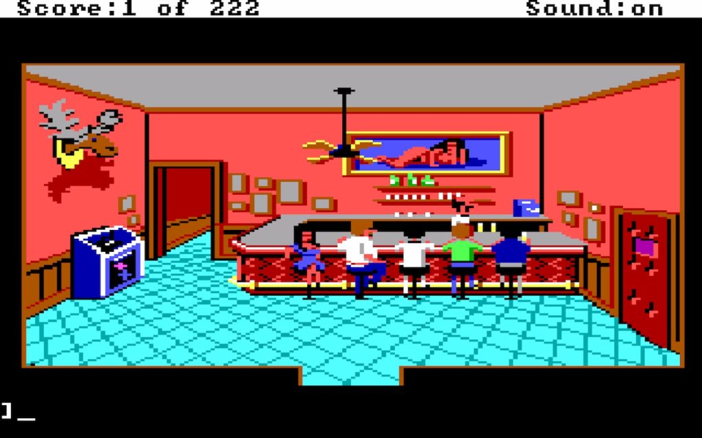 Leisure Suit Larry in the Land of the Lounge Lizards #04