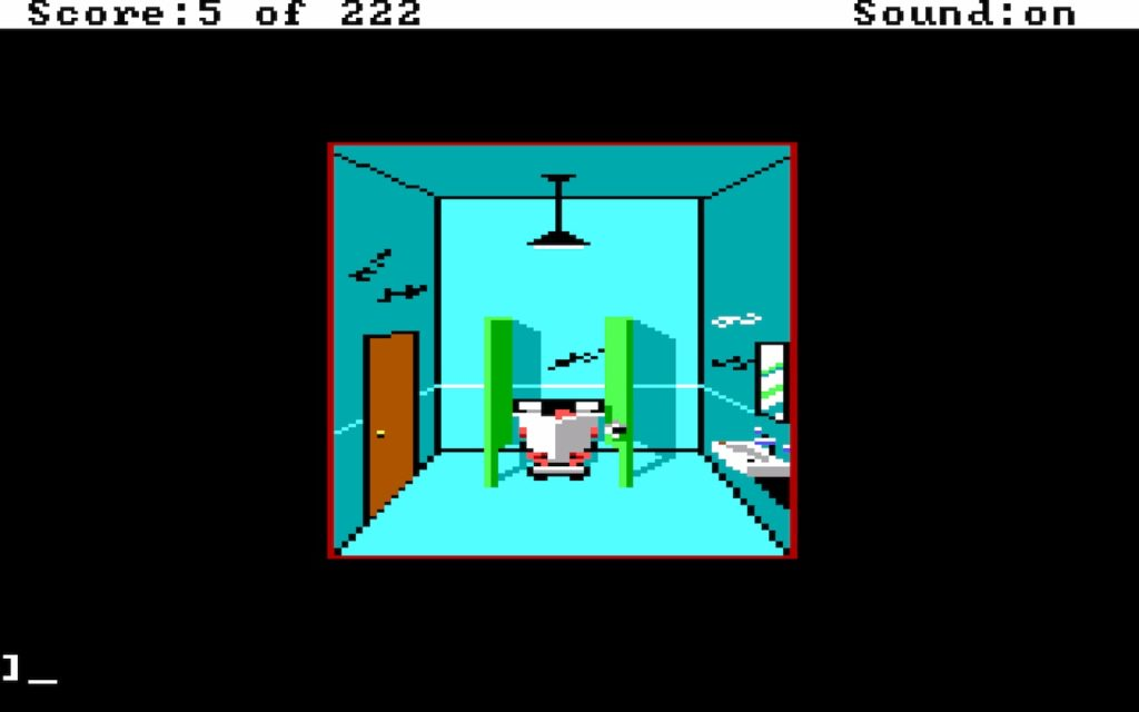 Leisure Suit Larry in the Land of the Lounge Lizards #05