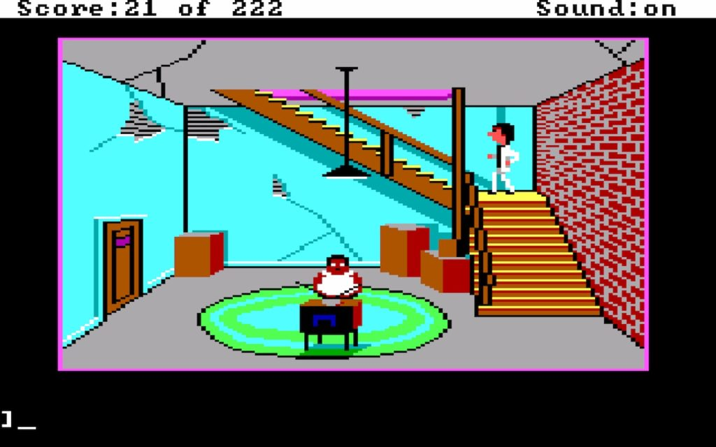 Leisure Suit Larry in the Land of the Lounge Lizards #06