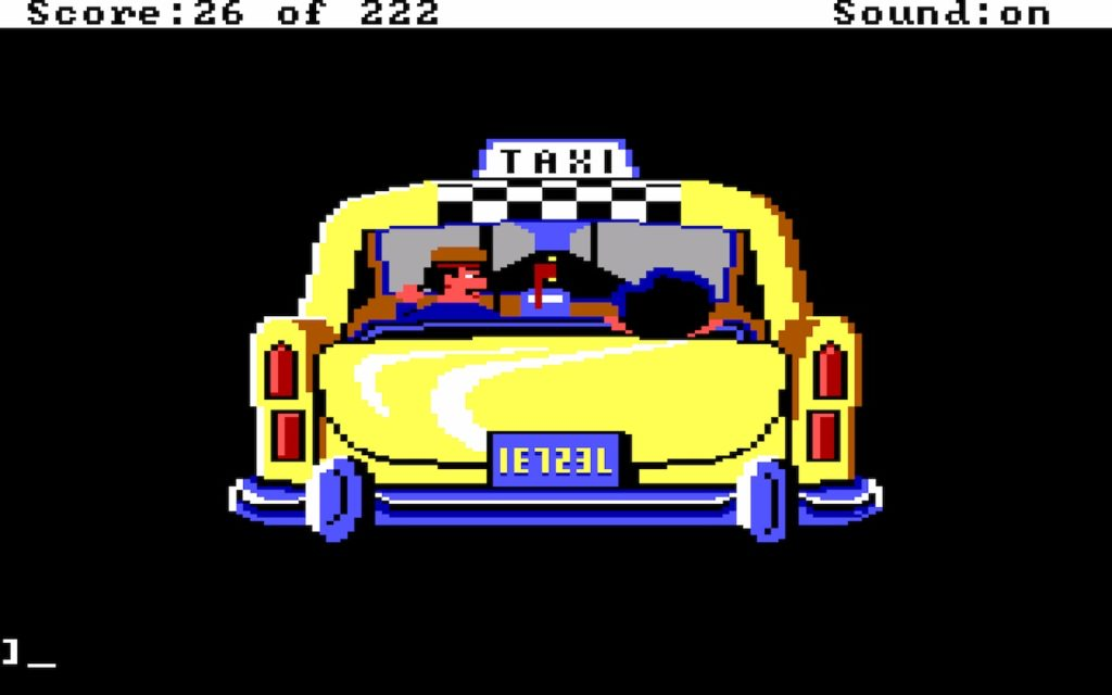 Leisure Suit Larry in the Land of the Lounge Lizards #08