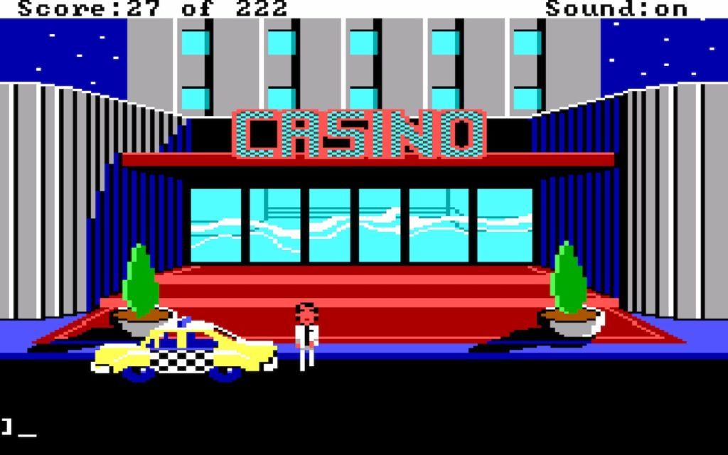 Leisure Suit Larry in the Land of the Lounge Lizards #09