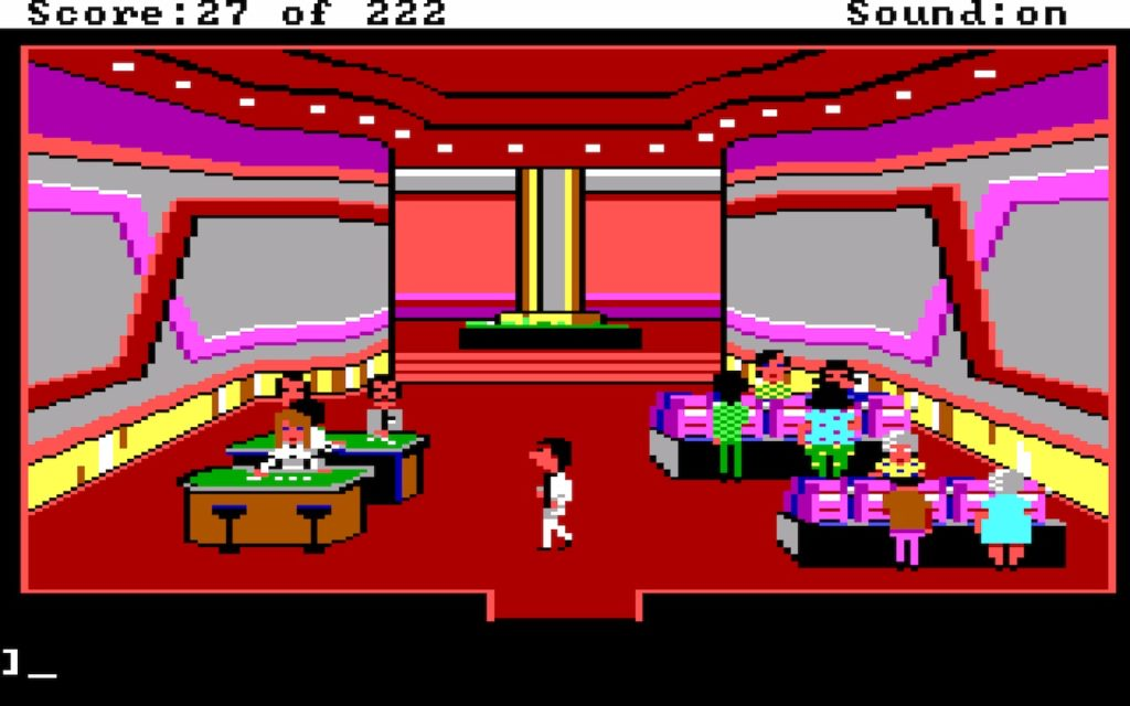 Leisure Suit Larry in the Land of the Lounge Lizards #10