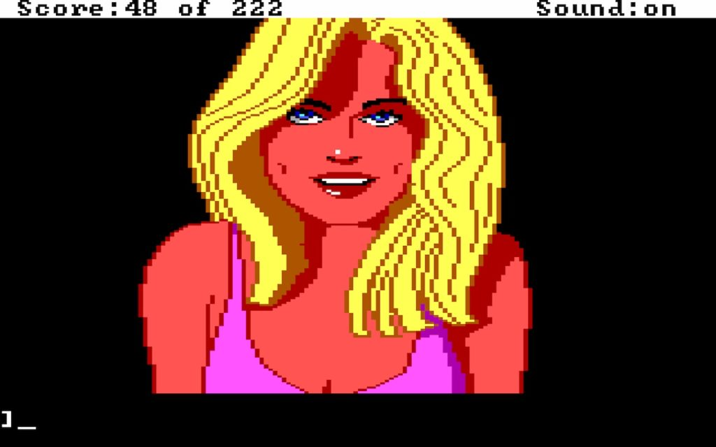 Leisure Suit Larry in the Land of the Lounge Lizards #17