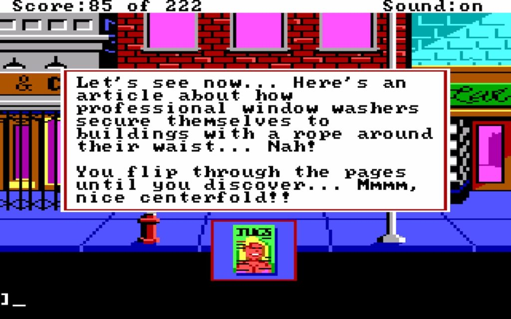 Leisure Suit Larry in the Land of the Lounge Lizards #21