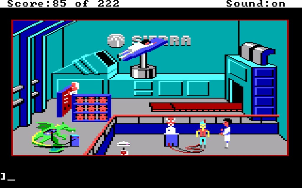 Leisure Suit Larry in the Land of the Lounge Lizards #23