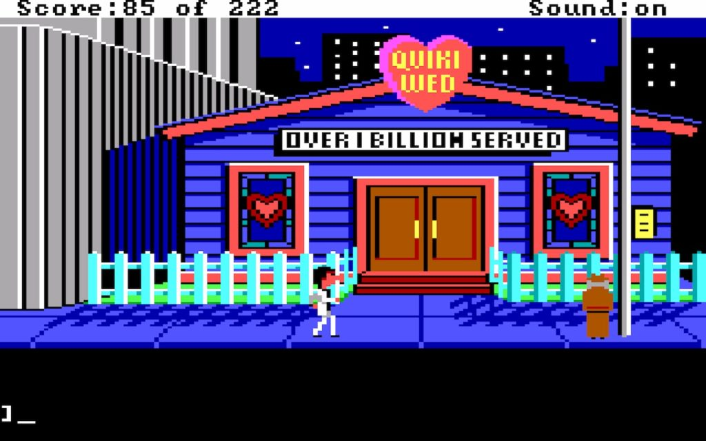 Leisure Suit Larry in the Land of the Lounge Lizards #24