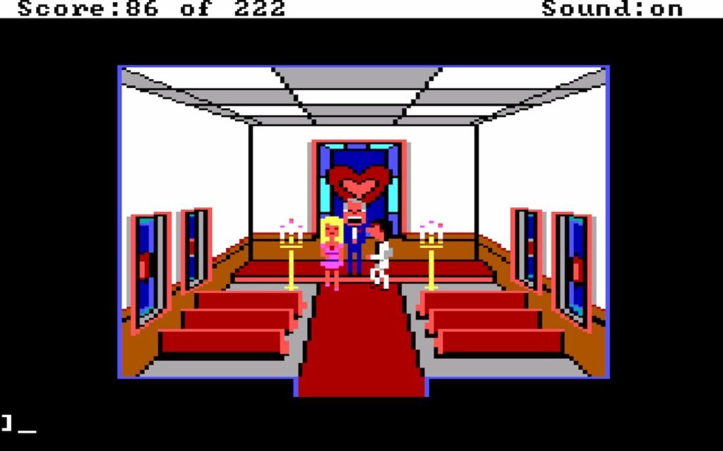 Leisure Suit Larry in the Land of the Lounge Lizards #25