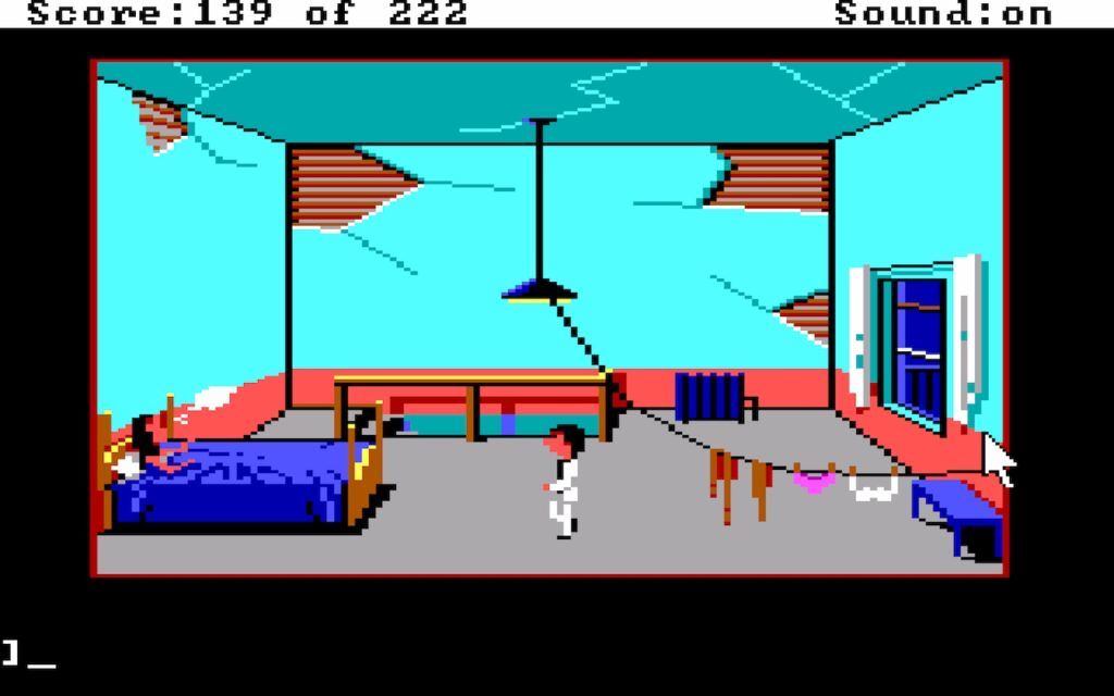 Leisure Suit Larry in the Land of the Lounge Lizards #28