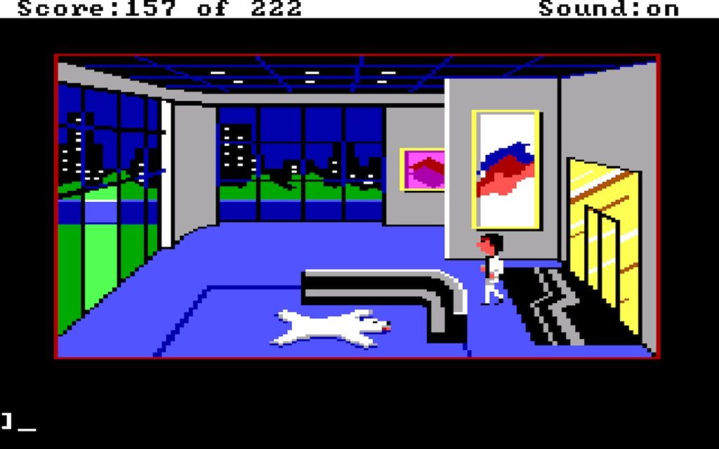 Leisure Suit Larry in the Land of the Lounge Lizards #31