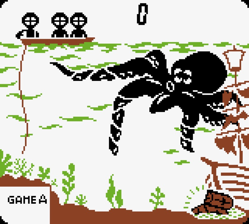 Game & Watch: Octopus #02