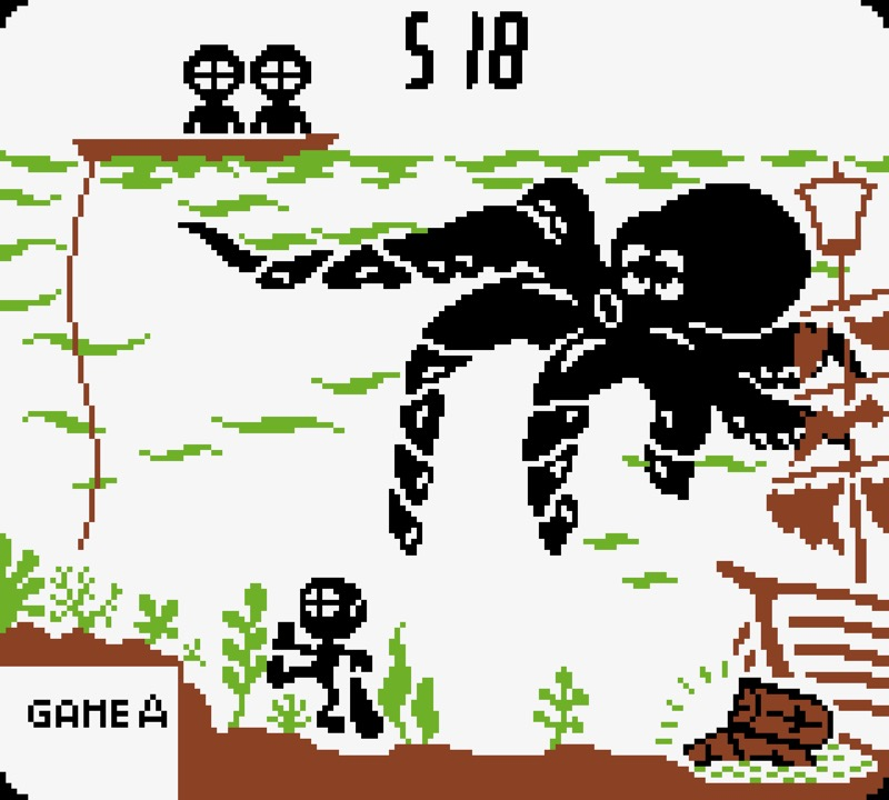 Game & Watch: Octopus #03