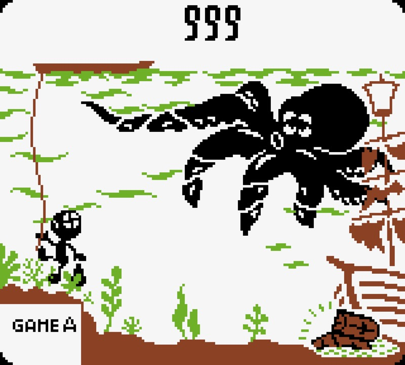 Game & Watch: Octopus #04