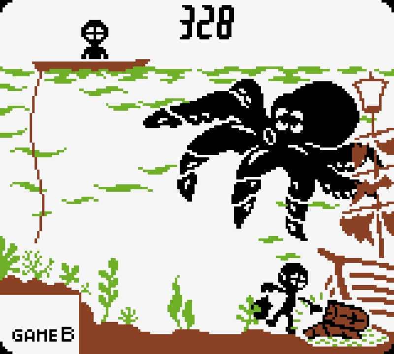 Game & Watch: Octopus #05