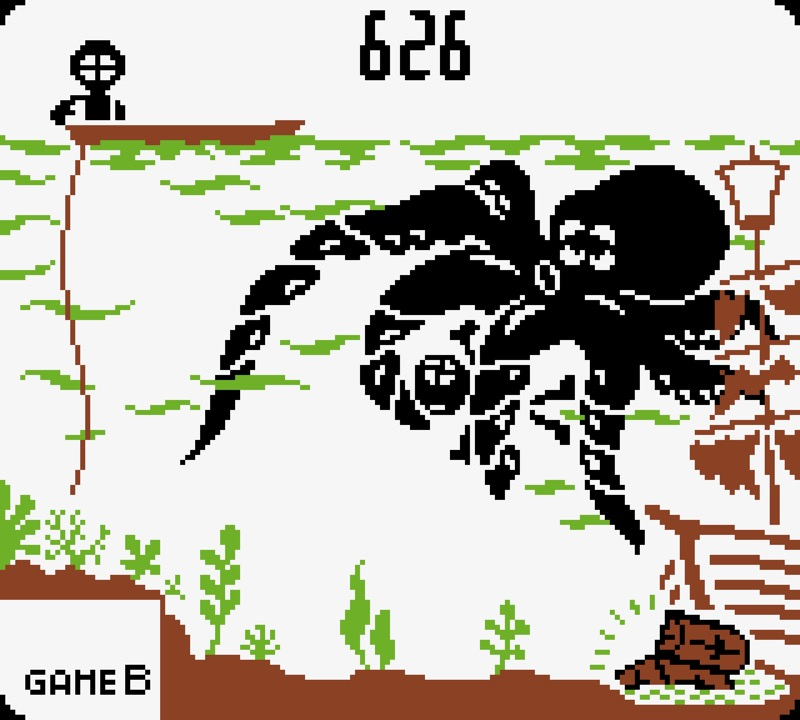 Game & Watch: Octopus #06