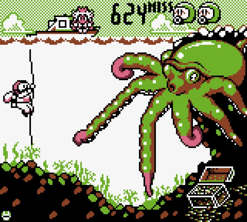 Game & Watch: Octopus #09
