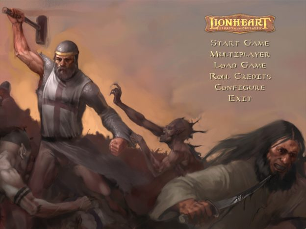 Lionheart: Legacy of the Crusader #01