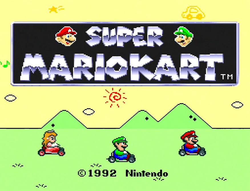 Super Mario Kart #01