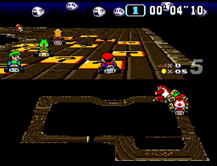 Super Mario Kart #10